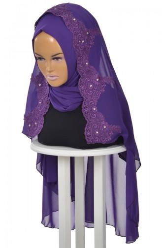 Purple Ready to wear Turban 0024-20