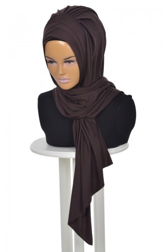 Brown Ready to wear Turban 0041-5