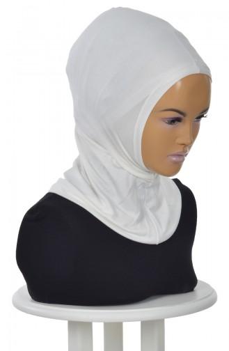 Hijab Bonnet-Creme TB0001-8 0001-8