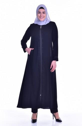 Black Abaya 0182A-01