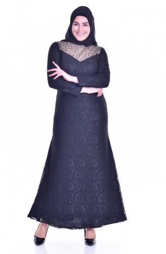 فستان بتصميم بتفاصيل مرصعة ومن الؤلؤ  1713185-01