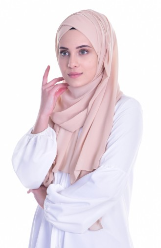 Beige Ready to wear Turban 0017-05