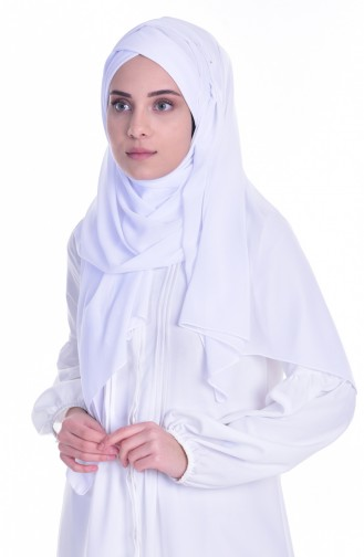 White Ready to wear Turban 0017-22