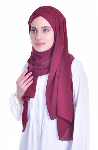 Claret red Ready to wear Turban 0017-13