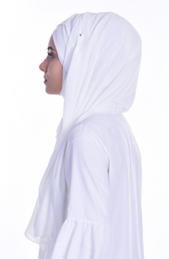 Ecru Ready to wear Turban 0017-09