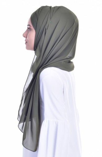Khaki Ready to wear Turban 0017-01