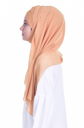 Mustard Ready to wear Turban 0017-07