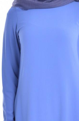 Basic Tunik 101512-09 İndigo 101512-09