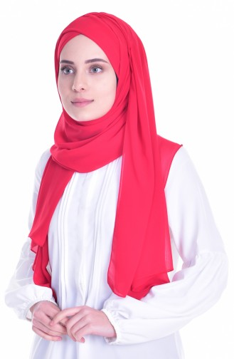 Red Ready to wear Turban 0017-24