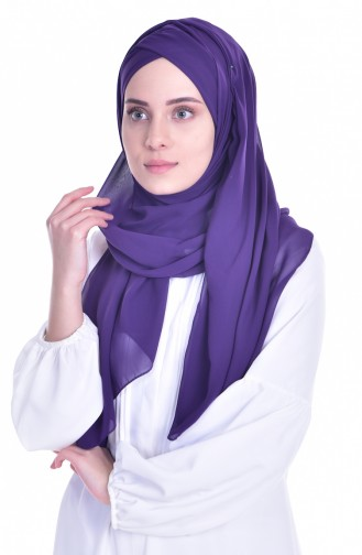Purple Ready to wear Turban 0017-26