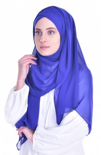 Saxon blue Ready to wear Turban 0017-03