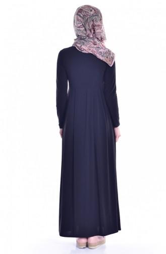 Robe avec Poches 18131-01 Noir 18131-01