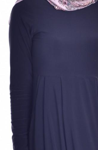 فستان بتصميم سادة  18131-01