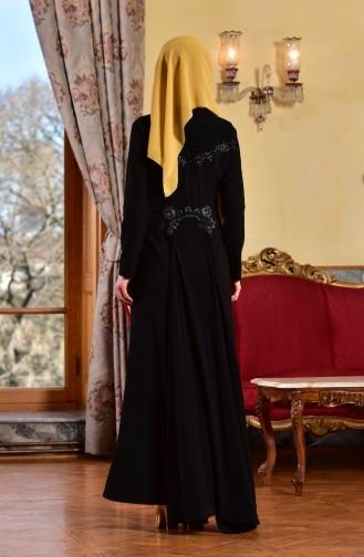 Abendkleid mit Spitzen 1713182-01 Schwarz 1713182-01