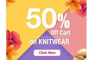 50% Off Cart on Knitwear