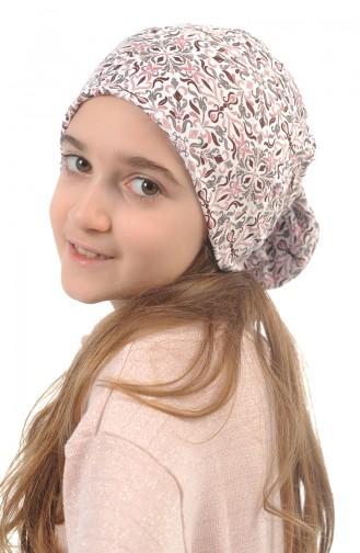 Bonnet Pour Bébé et Enfant Ns0164 Ecru - Poudre 0164