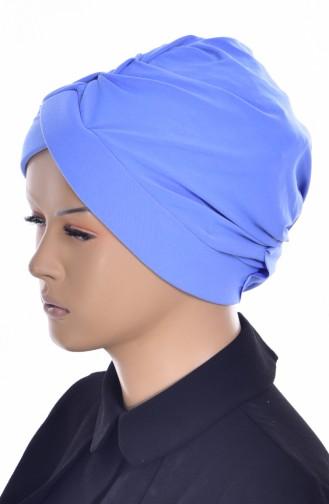 Kreuz Bade Bonnet 0018-06 Blau 0018-06