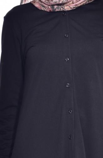 Tunique Noir 0658-03