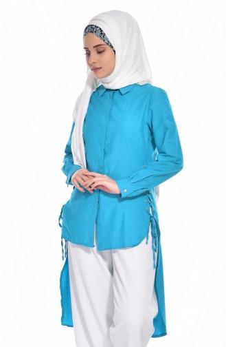 Turquoise Tuniek 1711839-01