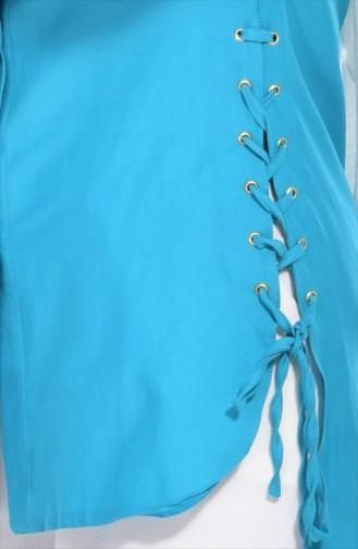 Tunique Asymétrique 1711839-01 Turquoise 1711839-01