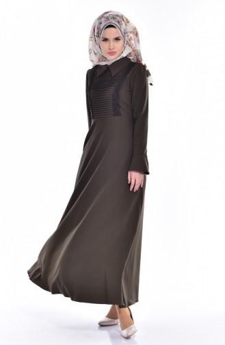 Khaki Dress 60673-03
