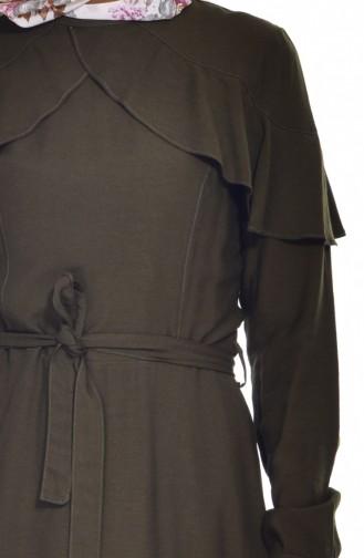Robe Volante 2036-04 Khaki 2036-04