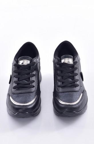 Black Sport Shoes 0755-01