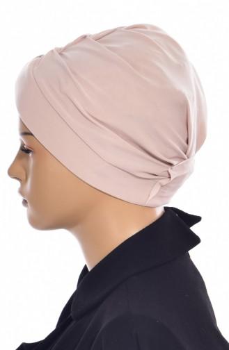 Bonnet de Bain Croisé 0018-03 Beige 0018-03