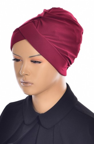 Kreuz Bade Bonnet 0018-13 Weinrot 0018-13
