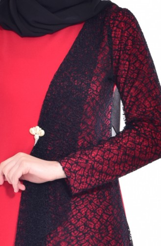 Robe Filet 3307-04 Rouge 3307-04
