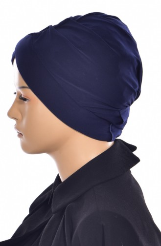 Navy Blue Swim Cap 0018-04