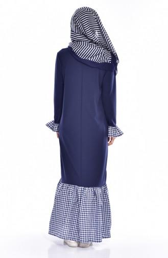 Navy Blue Dress 3302-08