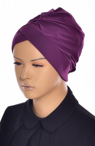 Bonnet de Bain Croisé 0018-21 Plum 0018-21