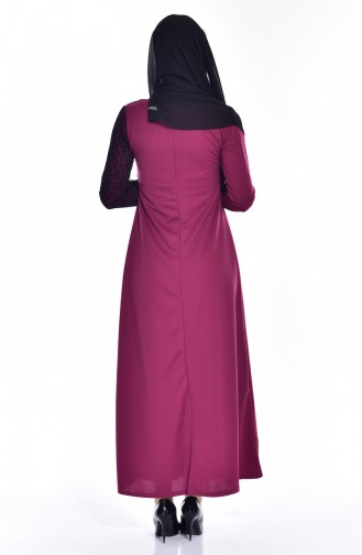 Robe Filet 3307-01 Plum 3307-01