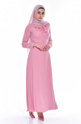 Kleid mit Halskette 8138-03 Puder 8138-03