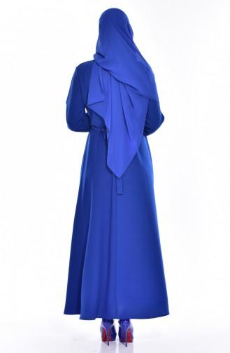 Kleid mit Halskette 8138-02 Saks 8138-02