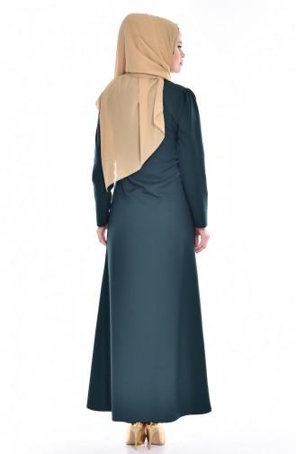 Emerald Abaya 2124-02