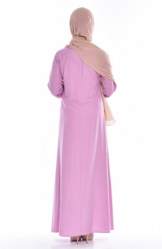 Dusty Rose İslamitische Jurk 4074-15
