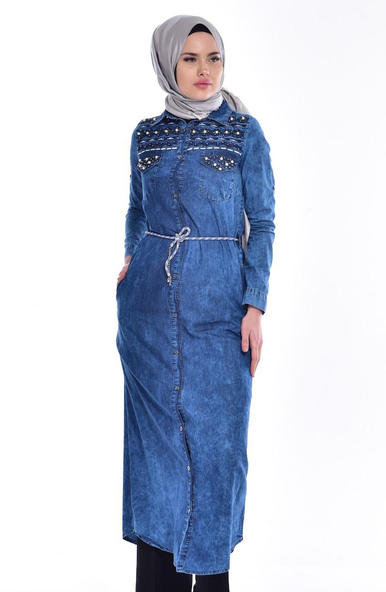 jeans tuniek