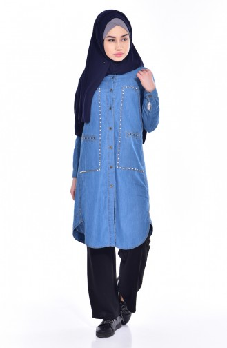 Jeans Blue Tunic 4335-01