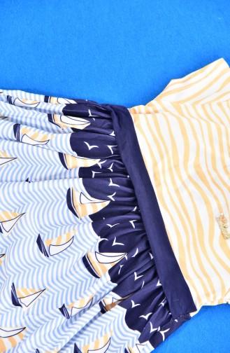 Yellow Baby and Kids Dress 9451-03