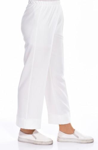 Pantalon Large 26361-08 Ecru 26361-08