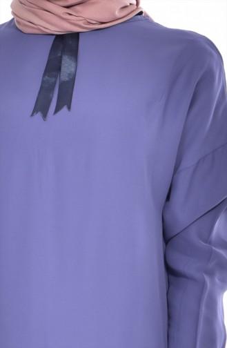Tunique Asymétrique 1368-01 Bleu 1368-01