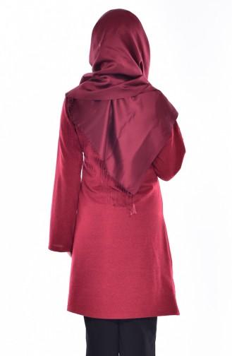 Claret red Tuniek 2907-04