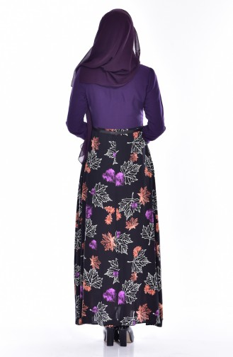 Purple Dress 2268-01