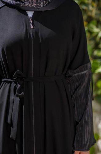 Black Abaya 7744-02