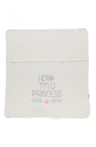 Bebetto Baby Decke mit Faser aus Gekämmte Baumwolle B555-GMS Silber 555-GMS