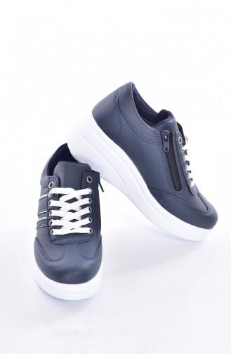 Navy Blue Sport Shoes 0101-09