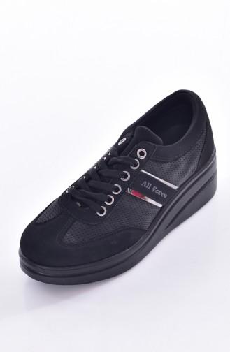 Black Sport Shoes 0102-04