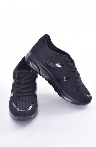 Black Sport Shoes 0765-06